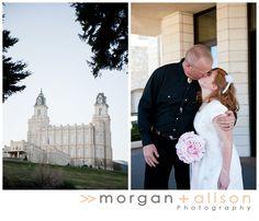 Morgan and Alison » Manti, Utah temple wedding