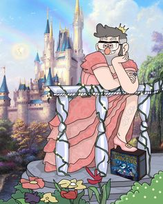 manzinat0r:  homoserek:    Since when I watched 'Dungeons, Dungeons and More Dungeons' episode, a coquettish Stanford vision was in my headIt's a trap? No. Another Disney Princess!   Princess Unattainabelle