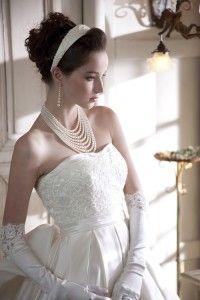 Lindos collares de perlas para boda  1