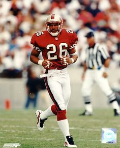 San Francisco 49ers -Rod Woodson - Inducted to Pro Football Hall of Fame in 2009 - Played for 49ers 1997
