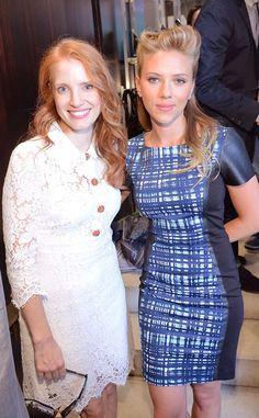 Jessica Chastain & Scarlett Johansson from 2013 Toronto Film Festival: Star Sightings | E! Online