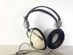 Vintage Headphones / Space age / Anime / Elega EE 51 / Japan 70s