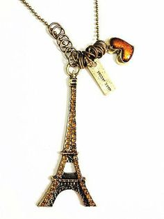 Eiffel Tower Necklace Just $1.99 + FREE Shipping!