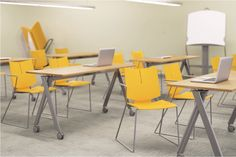 Paces tables with Quanta HD chairs