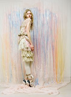 not a pastel girl... but love everything about this?!?  RODARTE  kamila  fall 2010