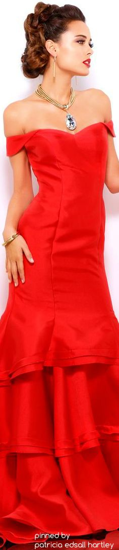 Shail k red dress for christmas