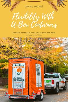 Enjoy the extra storage space that a U-Box container can offer you on moving day. Moving Supplies, Packing Supplies, Extra Storage Space, Storage Spaces, Moving Containers, Planning A Move, Rent Me, Moving And Storage, Moving Day