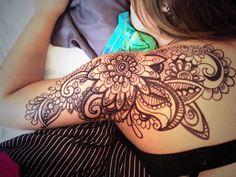 mandala bicep tattoos for women ~ mandala tattoos bicep . mandala bicep tattoos for women Lotusblume Tattoo, Lace Tattoo, Cover Tattoo, Piercing Tattoo, Piercings, Henna Arm Tattoo, Hand Henna, Henna Tattoo Shoulder, Shoulder Tattoos For Women