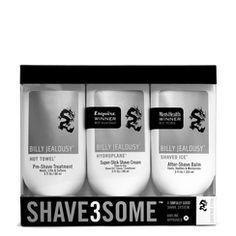 Pre-shave, shave & after-shave gift set