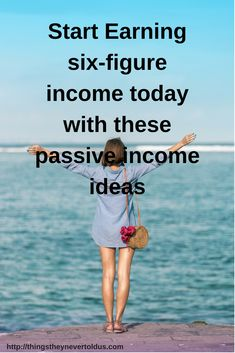Make money even your are sleeping with these Passive Income ideas. - Things They Never Told Us Make Money Fast, Make Money From Home, Make Money Online, Passive Income Streams, How To Start A Blog, Hustle, Online Business, Blogging, College