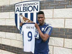 Albion sign Brown Ideye in club record transfer 18.07.14 - #West Bromwich Albion #Quiz  #West Brom