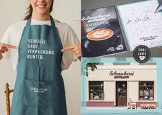 """Prints, signs, slogans – part of branding project for the zero waste shop """"Schmeckerei"""". Of Brand, Zero Waste, Slogan, Branding Design, Signs, Projects, Prints, Shopping, Packaging"""