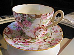 Vintage Shelley Maytime teacup! Beautiful. For sale at More Than McCoy