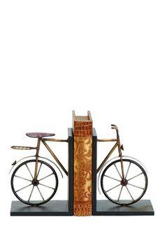 Cute Bike Bookends.