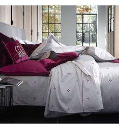 Luxe Empire damassée double lit de couette couette Literie Linge De Set Rose blush