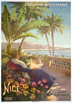 Vintage French Art Nouveau Posters, Vintage French and Italian Art Nouveau and Liberty Posters, Vintage Poster Classics Vintage French Posters, Italian Posters, Vintage Travel Posters, Vintage Postcards, French Vintage, Vintage Art, Decoupage Vintage, Poster Art, Kunst Poster