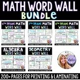 This is a bundle of Word Walls!So far in this bundle GradeAlgebra can see the list of terms for each set by clicking the individual links! Please note that some terms overlap between sets. Math 8, Math Vocabulary, Teacher Pay Teachers, Teacher Resources, Geometry Words, Math Word Walls, Math Words, Algebra 1, Math Lessons