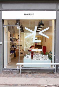 Playtype Typography House & Concept Store in Copenhagen.