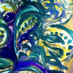 Floral Abstract Dancing Leaves Irina Sztukowski http://irina-sztukowski.artistwebsites.com/featured/floral-abstract-dancing-leaves-irina-sztukowski.html  #fineart #art #artwork #decoratehome #artgift #painting #homedecor