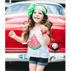 Watermelon Racerback Tank Tops! Sizes 6m, 12m, 3 (fits like a 2), 4, 6 & S (8)
