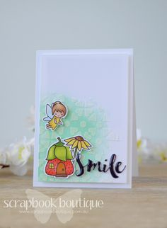 Lostinpaper: Lawn Fawn Fairy Friends with Scrapbook Boutique! (video)