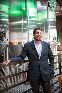 Garrett Oliver (CGS'81, COM'83), a leading beer expert and brewmaster of Brooklyn Brewery, in Brooklyn, N.Y., one of the 2,075 craft breweries in the United States