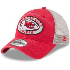 da48ba1d458 Preschool Kansas City Chiefs New Era Red Patched Pride 9TWENTY Adjustable  Hat