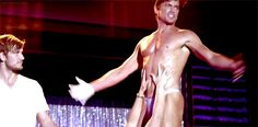 """Relentless objectification of the male form. 