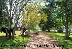 Life on a Canadian Island: A Step Back in Time at Orwell Corner Historic Vill...