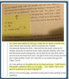 Awww! <3 <<< come on guys step up your game why don't people ever propose to me with books. Or anything fandom related