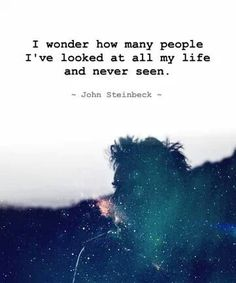 yes, a respite from Oscar Wilde, to make room for another amazing one - John Steinbeck ~