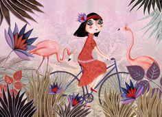Яркие сочные иллюстрации Marie Desbons - Ярмарка Мастеров - ручная работа, handmade