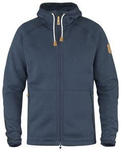 •Warm, cozy fleece jacket made from solution-dyed recycled polyester fleece. •Knitted exterior with a soft, brushed inside. •Perfect as an insulating mid layer under a shell jacket. •Reinforcements in