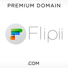 Buy Flipii .com Domain  #flipping #business #name #buy #domaining #premium #domain #brandable #logo #startup #brand #com #domainname #dotcom #business #company #entrepreneur #logodesign #businessname #name #idea #naming #businessidea #logodesign #design #designinspiration #inspiration #graphicdesign #creative Domain Name Ideas, Professional Logo Design, Business Company, Business Names, Flipping, Ecommerce, Entrepreneur, Design Inspiration, Letters