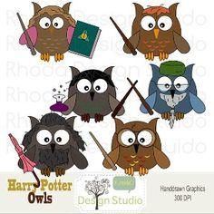 harry potter owls!