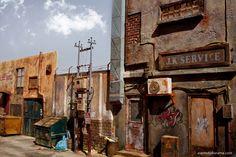 Alleyway Scene 1:24 – Alamedy Diorama