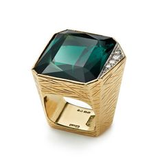 Andrew Grima The Hepworth Ring, for sculptress Dame Barbara Hepworth in 1970