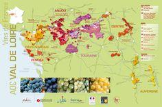 loire valley map - CASTLES