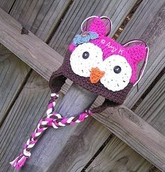 Hey, I found this really awesome Etsy listing at http://www.etsy.com/listing/62484326/baby-girl-owl-hat-newborn-baby-hats