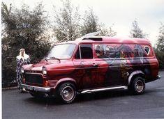 custom vans   Ford Transit Forum • View topic - old custom vans