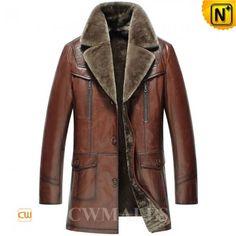 Shearling Winter Coat CW858106 www.cwmalls.com