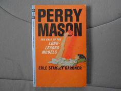 Perry Mason The Case of the Long-Legged Models (1964) Erle Stanley Gardner PB