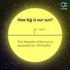 In the context of our Solar System, the sun is massive; more than one million…
