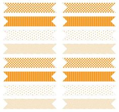 Imprimibles: Banderines para cupcakes y canapés. | Fuxia Atelier