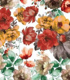 Floral and tropical pattern. Summer mood - Klassische Malerei und Kunstblog von…