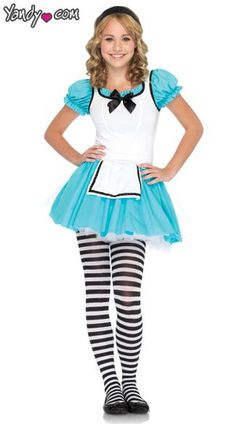 Maybe slightly longer but this is really cute. I am most likely going to be Alice for Halloween