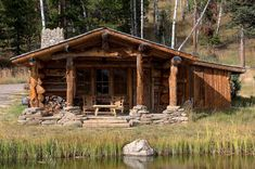 Why You Should Consider Buying a Log Cabin - Rustic Design Design Rustique, Rustic Design, How To Build A Log Cabin, Casas Containers, Cabin In The Woods, Log Cabin Homes, Log Cabins, Little Cabin, Mountain Homes