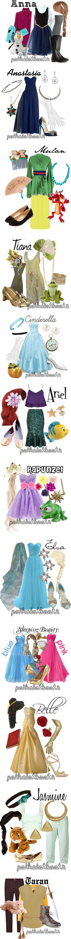 """Disney Halloween Costumes"" by polkadotboots ❤ liked on Polyvore"