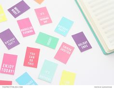 Decorate your Diary DIY - The Pretty Blog