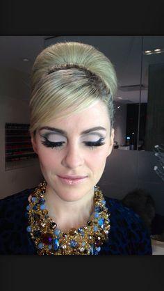 Makeup for Priscilla Presley costume